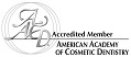 accreditation logo for Accredited Member of AACD